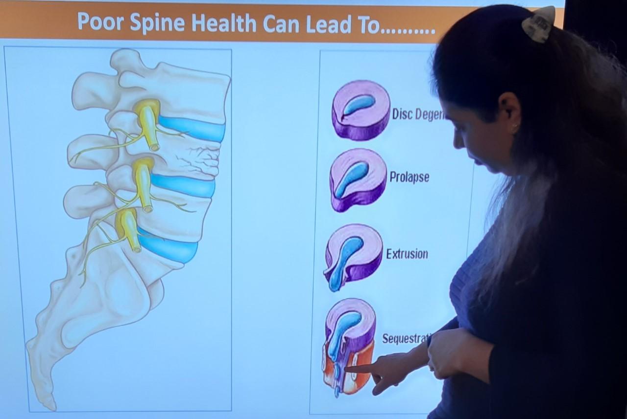 Poor Spine Health